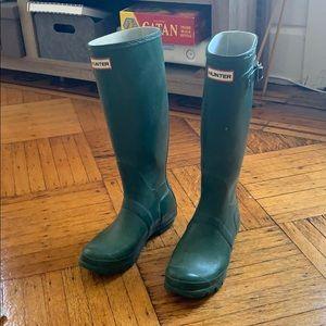 48c987917b7 Women s Hunter Wellington Boots on Poshmark